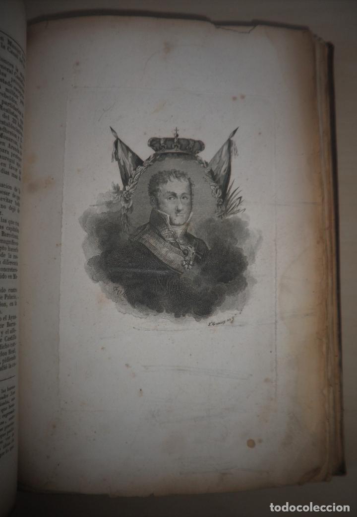 Libros antiguos: GUERRAS CARLISTAS - PANORAMA ESPAÑOL AÑO 1842 - BELLOS GRABADOS. - Foto 7 - 122988639