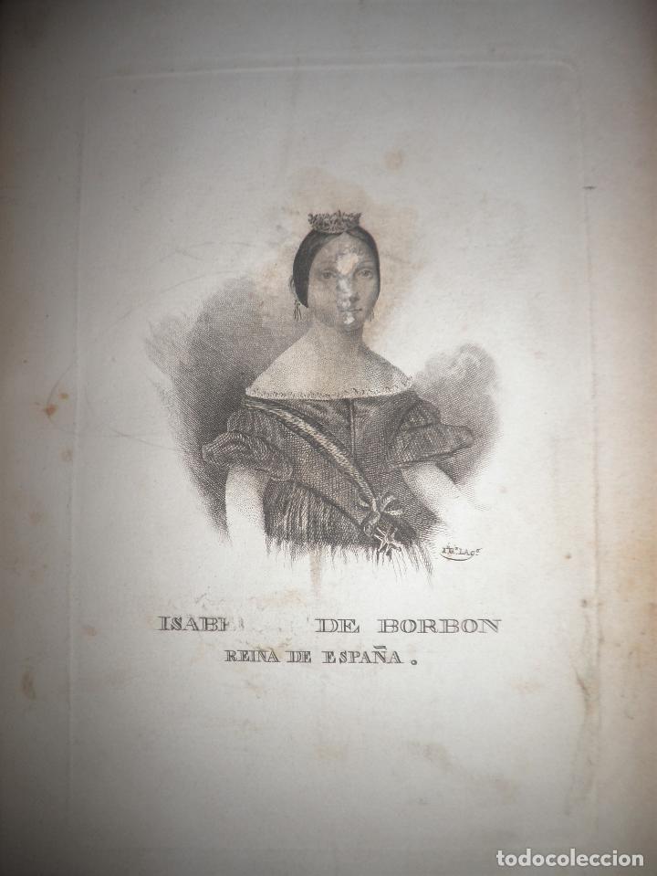 Libros antiguos: GUERRAS CARLISTAS - PANORAMA ESPAÑOL AÑO 1842 - BELLOS GRABADOS. - Foto 9 - 122988639