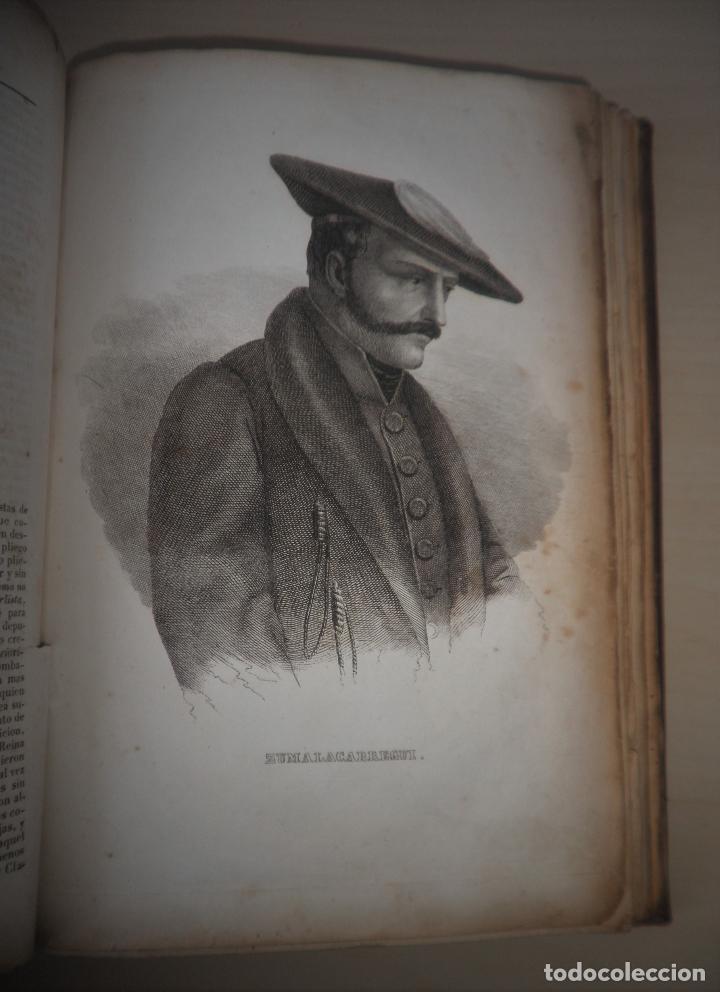 Libros antiguos: GUERRAS CARLISTAS - PANORAMA ESPAÑOL AÑO 1842 - BELLOS GRABADOS. - Foto 11 - 122988639