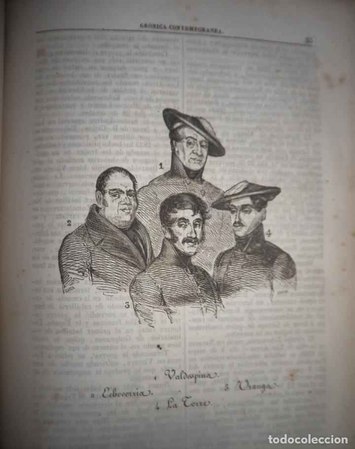 Libros antiguos: GUERRAS CARLISTAS - PANORAMA ESPAÑOL AÑO 1842 - BELLOS GRABADOS. - Foto 13 - 122988639
