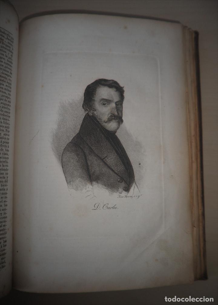 Libros antiguos: GUERRAS CARLISTAS - PANORAMA ESPAÑOL AÑO 1842 - BELLOS GRABADOS. - Foto 14 - 122988639