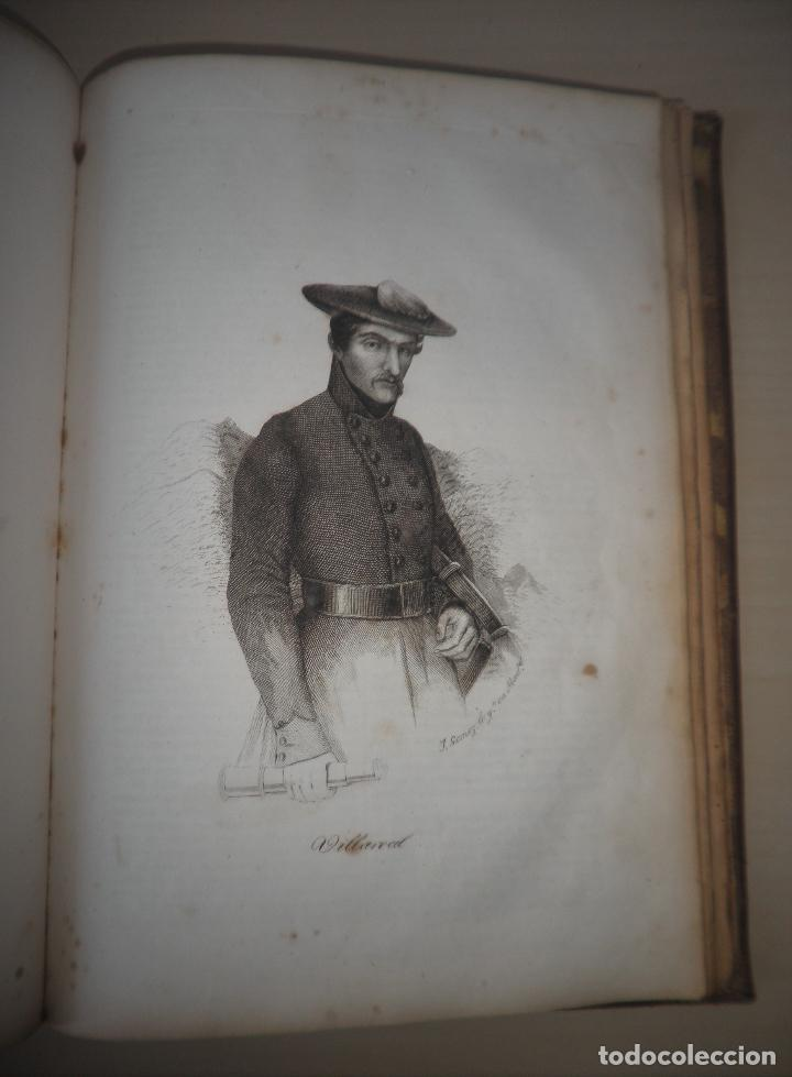 Libros antiguos: GUERRAS CARLISTAS - PANORAMA ESPAÑOL AÑO 1842 - BELLOS GRABADOS. - Foto 16 - 122988639