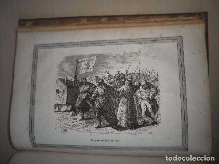 Libros antiguos: GUERRAS CARLISTAS - PANORAMA ESPAÑOL AÑO 1842 - BELLOS GRABADOS. - Foto 19 - 122988639