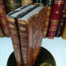 Libros antiguos: LES LIAISONS DANGEREUSES, LETTRES RECUEILLIES DANS UNE SOCIÉTÉ - 2 TOMOS - PARMANTIER LIB. - PARÍS -. Lote 123012495
