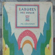 Libros antiguos: LABORES DEL HOGAR, REVISTA MENSUAL, JULIO 1933 AÑO VIII,N 80. Lote 123037891
