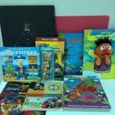 Libros antiguos: LOTE 6 LIBROS INFANTILES + ALBUM DE CROMOS DE INVIZIMALS. Lote 123066859