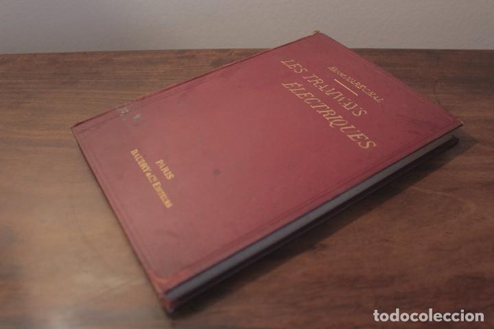 Libros antiguos: Les Tramways Electriques - Marechal. 1897. Primera edición - Foto 2 - 123074787