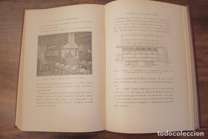 Libros antiguos: Les Tramways Electriques - Marechal. 1897. Primera edición - Foto 6 - 123074787