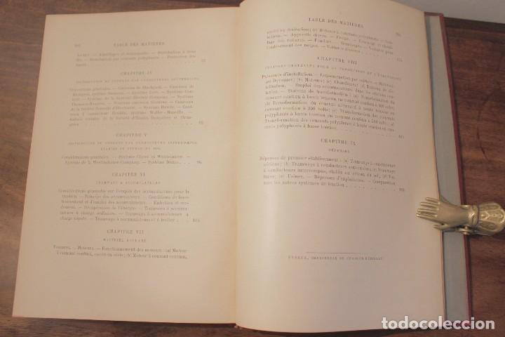 Libros antiguos: Les Tramways Electriques - Marechal. 1897. Primera edición - Foto 7 - 123074787