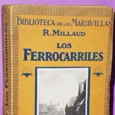 Libros antiguos: LOS FERROCARRILES.. Lote 123084071