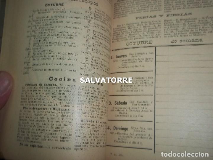 Libros antiguos: EL AÑO EN LA MANO.ALMANAQUE DE VIDA PRACTICA.1908.BARCELONA.MUCHA PUBLICIDAD. - Foto 6 - 123221987
