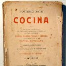 Libros antiguos: ALTIMIRAS, J. - NOVÍSIMO ARTE DE COCINA - BARCELONA 1905 - ILUSTRADO. Lote 123306674