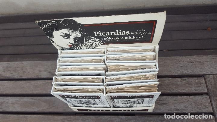 Libros antiguos: LIBRO PÍCARO FIN DE SIGLO EDITORIAL MONTENA + MOSTRADOR DE CARTÓN CON 10 MINI LIBROS TODOS IGUALES - Foto 11 - 122696411