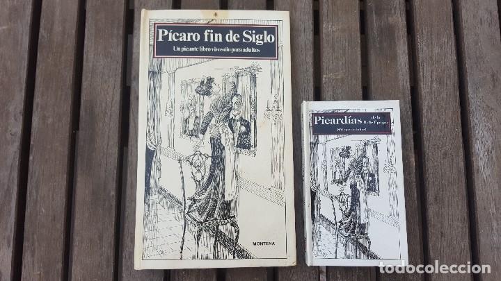 Libros antiguos: LIBRO PÍCARO FIN DE SIGLO EDITORIAL MONTENA + MOSTRADOR DE CARTÓN CON 10 MINI LIBROS TODOS IGUALES - Foto 12 - 122696411