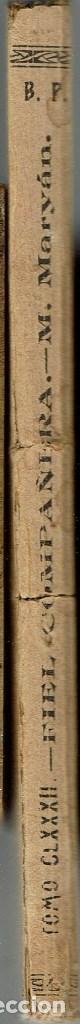 Libros antiguos: FIEL COMPAÑERA, POR M. MARYÀN. AÑO 1922 (9.4) - Foto 3 - 123401063