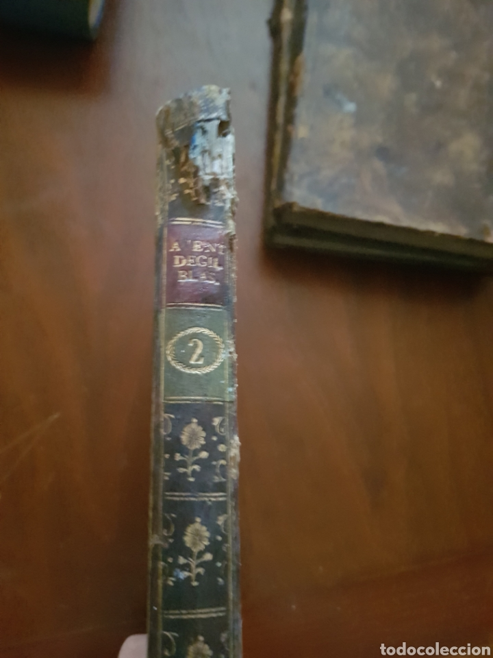 Libros antiguos: 1791 Aventuras de Gil Blas de Santillana - Foto 3 - 123504828