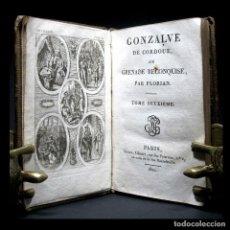 Libros antiguos: AÑO 1810 GRANADA RECONQUISTADA O GONZALO DE CÓRDOBA EL GRAN CAPITÁN FRONTISPICIO GRABADO PARÍS. Lote 123553023