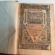Libros antiguos: MARIALE BUSTI. Lote 123579547