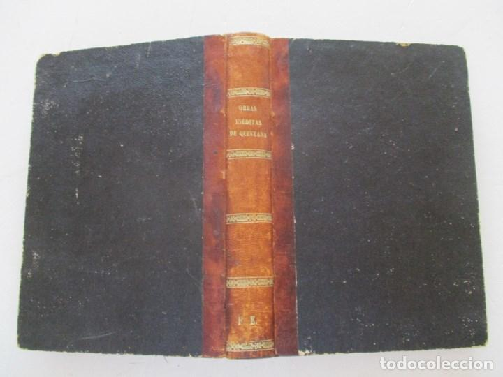 DON MANUEL JOSÉ QUINTANA OBRAS INÉDITAS. RM86619 (Libros antiguos (hasta 1936), raros y curiosos - Literatura - Narrativa - Otros)