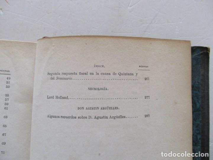 Libros antiguos: DON MANUEL JOSÉ QUINTANA Obras Inéditas. RM86619 - Foto 5 - 123593799