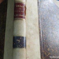Libros antiguos: OBRAS DE FRAY LUIS DE GRANADA TOMO 2 EDIT M. RIVADENEYRA AÑO 1884 SIGÑO XIX. Lote 123730483