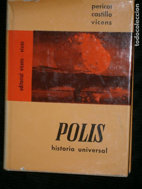 F1 POLIS HISTORIA UNIVERSAL PERICOT CASTILLO VICENS (Libros Antiguos, Raros y Curiosos - Historia - Otros)