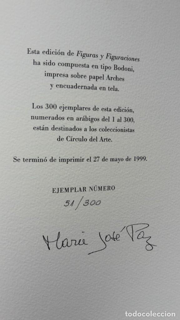 Libros antiguos: Figuras y Figuraciones Octavio Paz; Marie José Paz - Foto 7 - 124073355