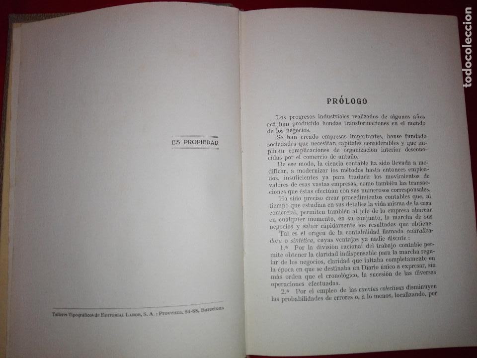 Libros antiguos: LIBRO-LA CONTABILIDAD POR EL SISTEMA CENTRALIZADOR-LEÓN BATARDÓN-BARCELONA-1931-2ªEDICIÓN - Foto 5 - 124151135