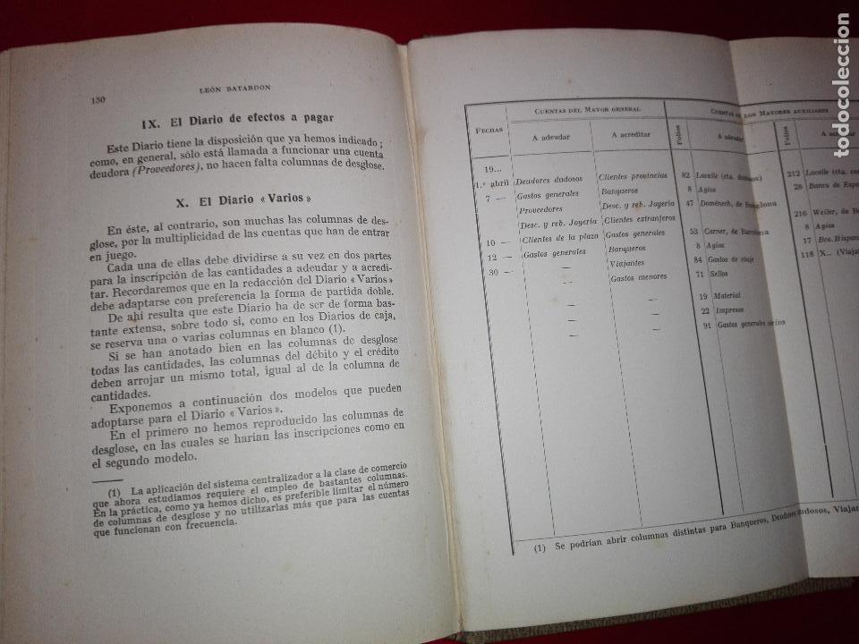 Libros antiguos: LIBRO-LA CONTABILIDAD POR EL SISTEMA CENTRALIZADOR-LEÓN BATARDÓN-BARCELONA-1931-2ªEDICIÓN - Foto 10 - 124151135