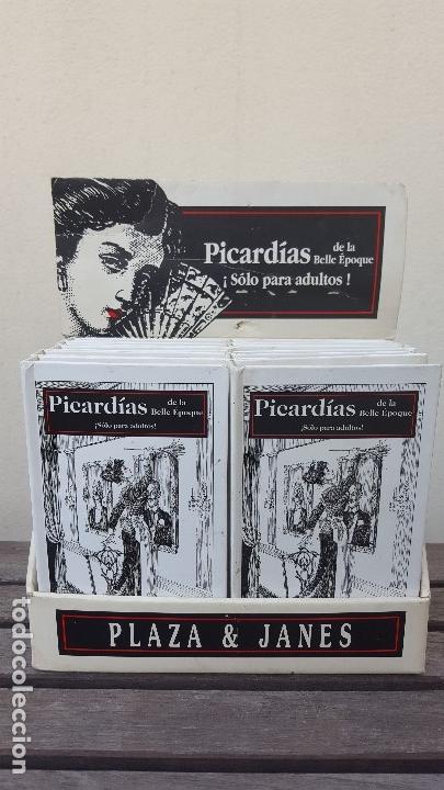Libros antiguos: LIBRO PÍCARO FIN DE SIGLO EDITORIAL MONTENA + MOSTRADOR DE CARTÓN CON 10 MINI LIBROS TODOS IGUALES - Foto 10 - 122696411