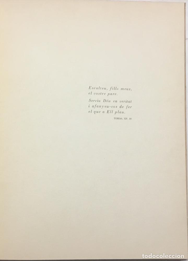 Libros antiguos: CONSELLS QUE D. JOAN RIERA I SALA ESCRIGUÉ PER ALS SEUS FILLS ELS ÚLTIMS DIES DE LA SEVA VIDA QUE S - Foto 4 - 184519953