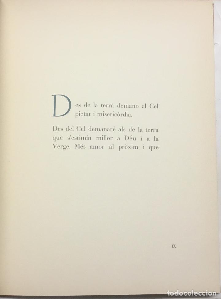 Libros antiguos: CONSELLS QUE D. JOAN RIERA I SALA ESCRIGUÉ PER ALS SEUS FILLS ELS ÚLTIMS DIES DE LA SEVA VIDA QUE S - Foto 5 - 184519953