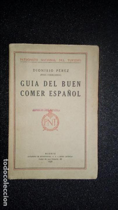 GUÍA DE GASTRONOMÍA. COCINA. (Libros Antiguos, Raros y Curiosos - Cocina y Gastronomía)