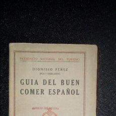 Libros antiguos: GUÍA DE GASTRONOMÍA. COCINA.. Lote 124436703