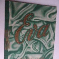 Libri antichi: EVA - CURSOS DE BORDADO A MAQUINA POR CORRESPONDENCIA - FOLLETO DE INFORMACION - SAN SEBASTIAN. Lote 124443003