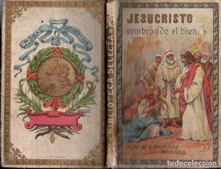 MARIANO RODRÍGUEZ MIGUEL : JESUCRISTO SEMBRANDO EL BIEN (HIJOS DE S. RODRÍGUEZ BURGOS, S.F.) (Libros Antiguos, Raros y Curiosos - Literatura Infantil y Juvenil - Otros)