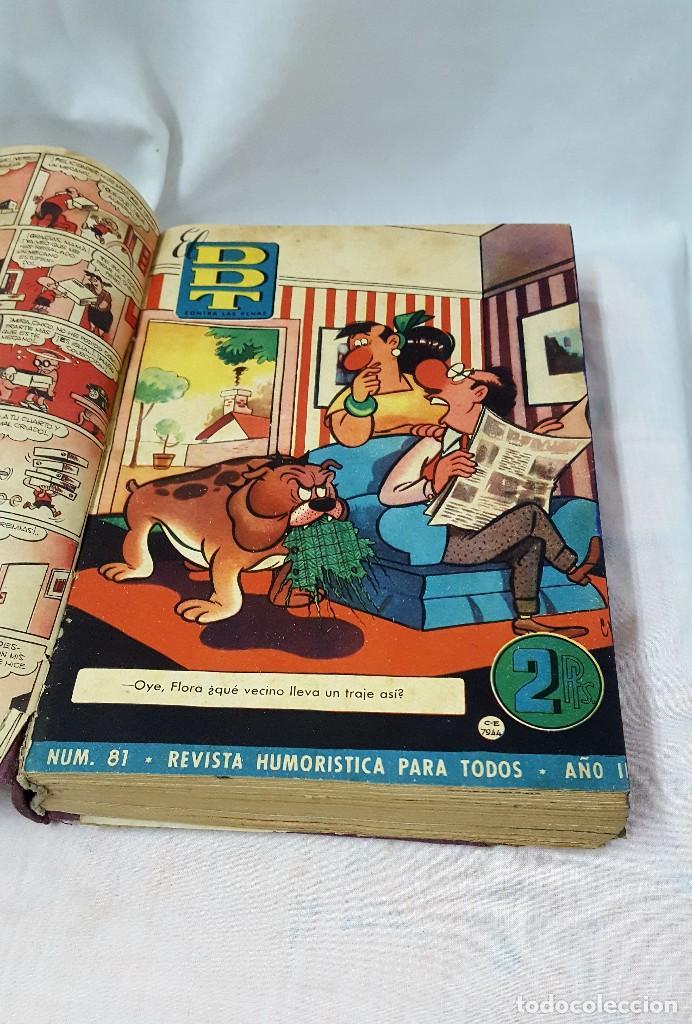 Libros antiguos: DDT II y III EPOCA ENCUADERNADO - Foto 2 - 124458019
