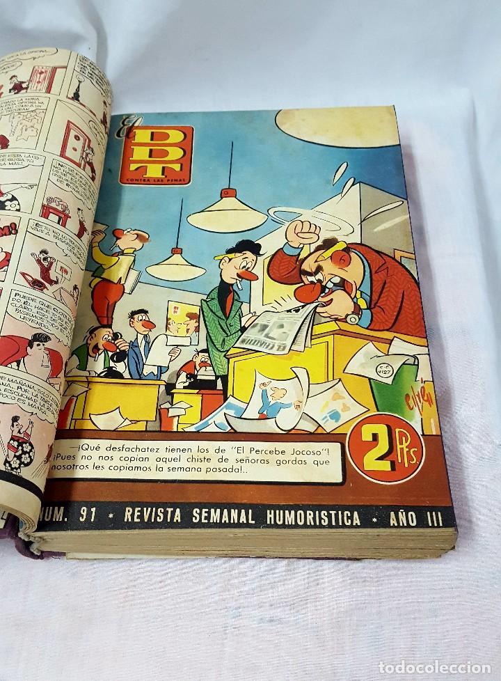 Libros antiguos: DDT II y III EPOCA ENCUADERNADO - Foto 7 - 124458019