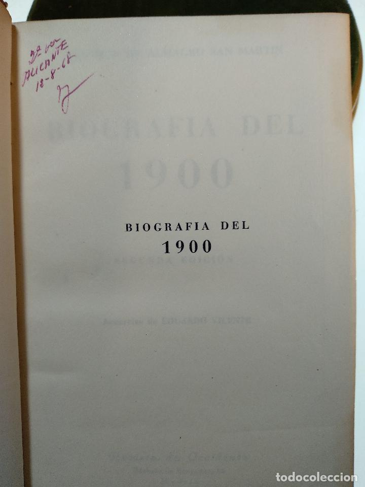 Libros antiguos: BIOGRAFÍA DEL 1900 - MELCHOR DE ALMAGRO SAN MARTÍN - REVISTA DE OCCIDENTE - 1944 - MADRID - - Foto 2 - 124486391