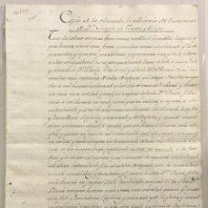 Libros antiguos: CÒPIA DE LA CLÀUSULA HEREDITÀRIA DE JOSEPH DE TORRES I OLUJA. [CAUSA JUDICIAL PER RAÓ D'HERÈNCIA] -. Lote 123266986
