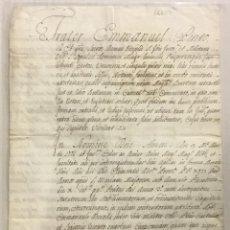 Libros antiguos: [CARAVANAS DE MANUEL DESVALLS.] - [MANUSCRITO. ORDEN DE SAN JUAN DE JERUSALÉN.]. Lote 123267242