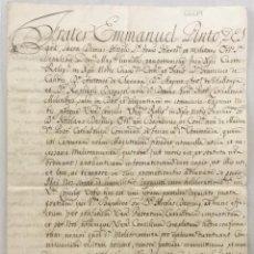 Libros antiguos: [VISITA DE LA ENCOMIENDA DE MASDEU.] - [MANUSCRITO. ORDEN DE SAN JUAN DE JERUSALÉN.]. Lote 123267602