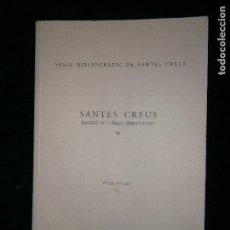 Libros antiguos: F1 SANTES CREUS ARXIU BIBLIOGRAFIC VOLUM XXI 2004. Lote 124539275