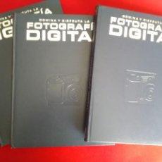 Libros antiguos: ESTUPENDA Y ÚTIL ENCICLOPEDIA DE TRES TOMOS DOMINA Y DISFRUTA LA FOTOGRAFÍA DIGITAL. Lote 124606991