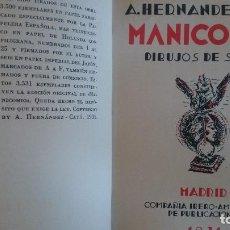 Libros antiguos: MANICOMIO-A.HERNANDEZ-CATA,1931-ENCUADERNADO SIN CUBIERTA. Lote 124625879