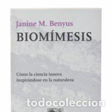 Libri antichi: BIOMIMESIS. Lote 294171023