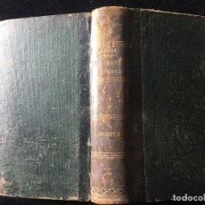 Libros antiguos: DE CARNE Y HUESO / INCESTO, EDUARDO ZAMACOIS, SOPENA, SOBRE 1900. Lote 124699035