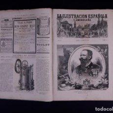 Libros antiguos: LA ILUSTRACION ESPAÑOLA Y AMERICANA 1878. Lote 124713167