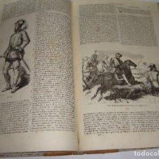 Libros antiguos: HISTORIA DE LA CONQUISTA DE MÉJICO. ANTONIO SOLÍS. MADRID 1851. GASPAR Y ROIG. ILUSTRADO. Lote 124736451