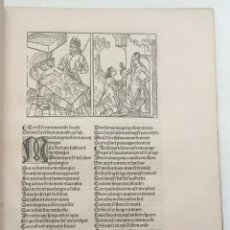 Libros antiguos: LE ROMMANT DE LA ROSE IMPRIME A PARIS. - [FACSÍMIL.] EDICIÓN DE XX EJEMPLARES.. Lote 123265662